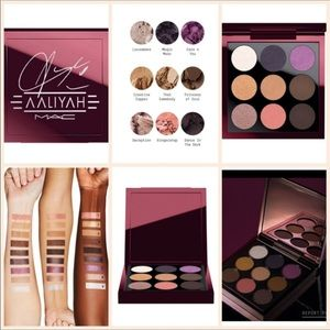 MAC age ain't nothin9 color pallet limited edition